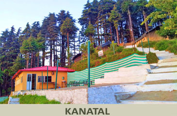 camp kanatal, thangdhar near mussoorie, camping dhanolti
